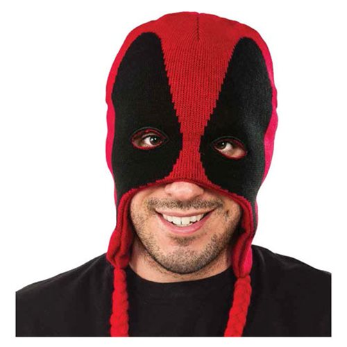 Deadpool Fleece Laplander Hat - Entertainment Earth a7eeab9680a