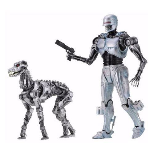 RoboCop vs. Terminator Endocop and Terminator Dog Action Figure 2-Pack