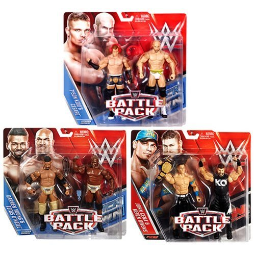 WWE Basic 2-Pack Series 39 Revision 1 Action Figure Set