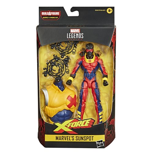 Deadpool Marvel Legends Marvel's Sunspot 6-inch Action Figure