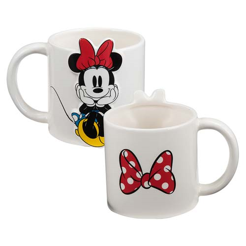 Minnie Mouse 20 oz. 3D Ceramic Mug