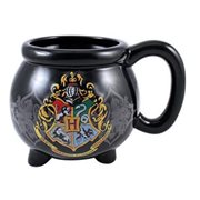 Harry Potter Hogwarts Crest Cauldron Molded Ceramic Mug