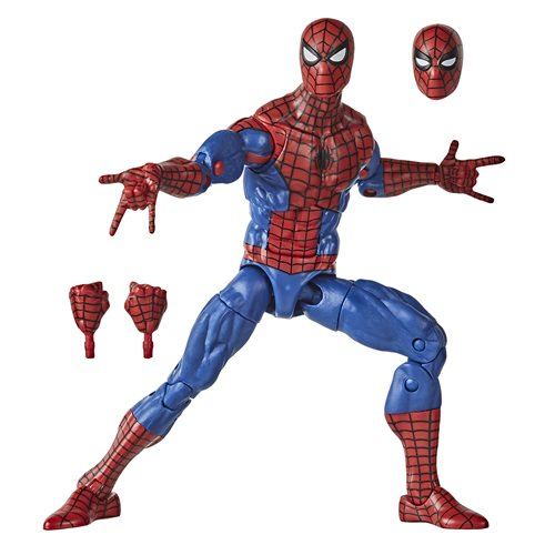 Spider-Man Retro Marvel Legends Spider-Man 6-Inch Action Figure