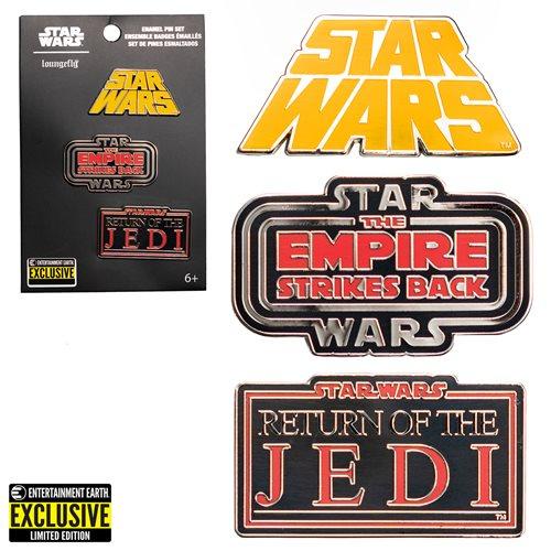 Star Wars Original Trilogy Enamel Pins 3-Pack - EE Exclusive