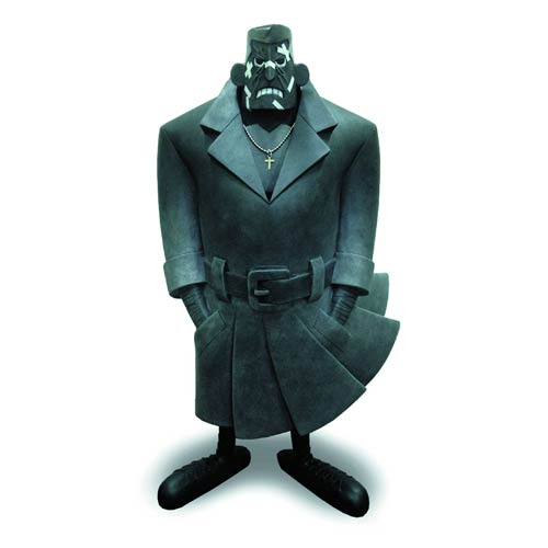 Sin City Comic Book Marv by Eric So Oversize Vinyl Figure
