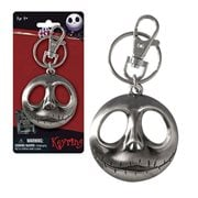 The Nightmare Before Christmas Jack's Head Pewter Key Chain