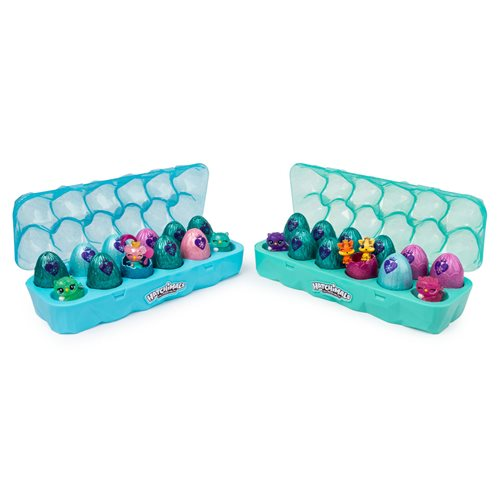 Hatchimals CollEGGtibles Jewelry Box Royal Dozen 12-Pack Egg Carton