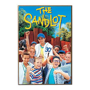 The Sandlot Poster Wood Wall Art