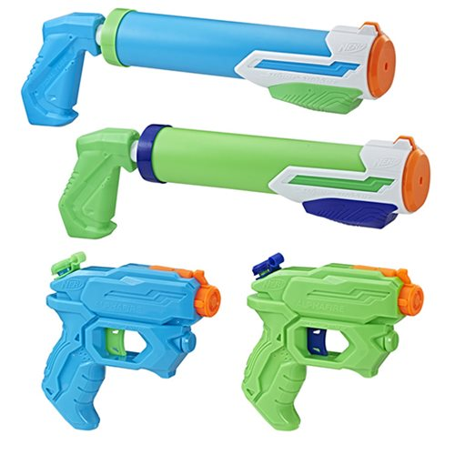 Super Soaker Floodtastic Water Blaster 4-Pack