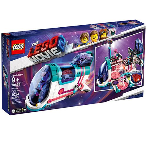 LEGO 70828 The LEGO Movie 2: The Second Part Pop-Up Party Bus