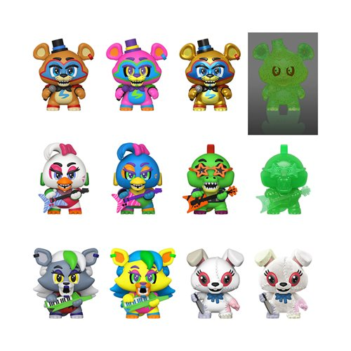 Five Nights at Freddy's: Security Breach Mystery Minis Display Case