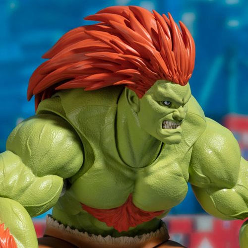 Street Fighter Blanka Sh Figuarts Action Figure Entertainment Earth