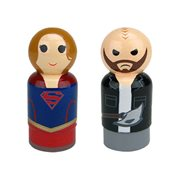Supergirl TV Series Supergirl and Vartox Pin Mates Wooden Collectibles Set