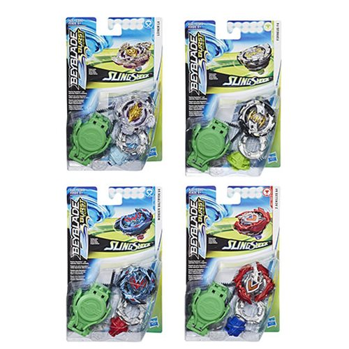 Beyblade Burst Turbo Slingshock Starter Pack Wave 1 Set