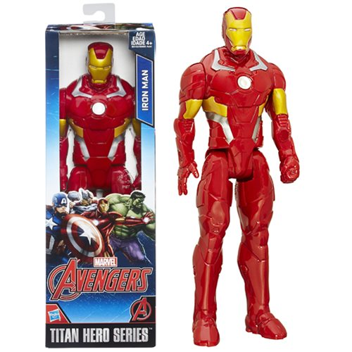 Avengers Titan Hero Series Iron Man 12-Inch Action Figure