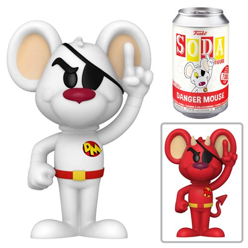 Danger Mouse Vinyl Soda Figure