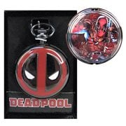 Deadpool Logo Cover Pocket Watch