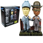 Star Trek: The Next Generation Sherlock Holmes Data and La Forge Bobble Heads - Set of 2 Convention Exclusive