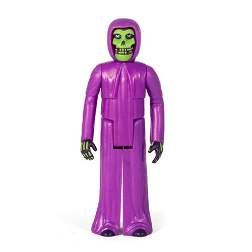 The Misfits Earth A.D. Purple Fiend 3 3/4-Inch ReAction Figure, Not Mint