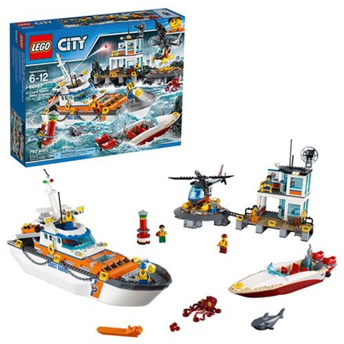 LEGO City Coast Guard 60167 Coast Guard Head Quarters