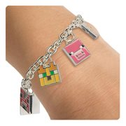 Minecraft Animals Charm Bracelet