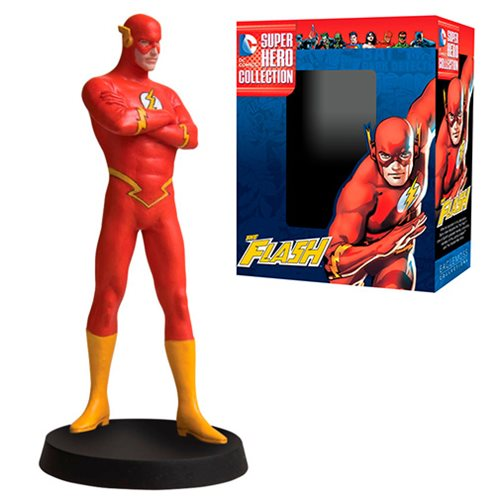 DC Superhero Flash Best Of Figure with Collector Magazine #14