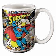 Superman Comics 14 oz. Mug
