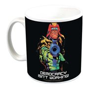 Judge Dredd Democracy Isn't Working Mug - Previews Exclusive