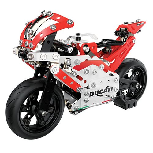 Erector by Meccano Ducati GP Motorcycle Model Building Kit
