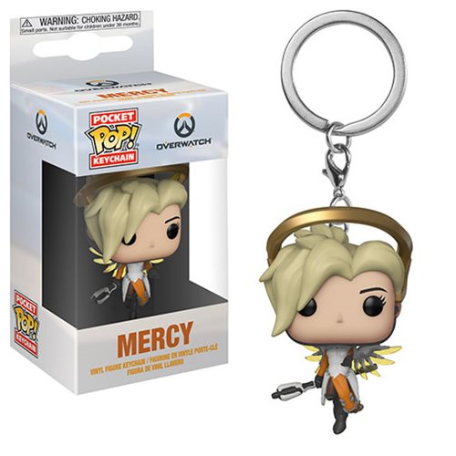 Overwatch Mercy Pocket Pop! Key Chain