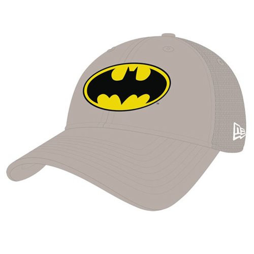 Batman Symbol Washed Trucker Snap Back Cap