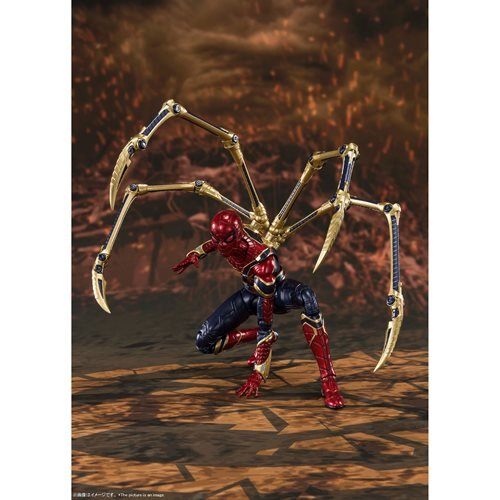 Avengers: Endgame Iron Spider Final Battle Edition SH Figuarts Action Figure