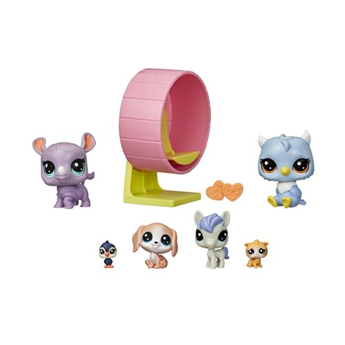 Littlest Pet Shop Pet Playhouse Toy Series 1 3-Pack