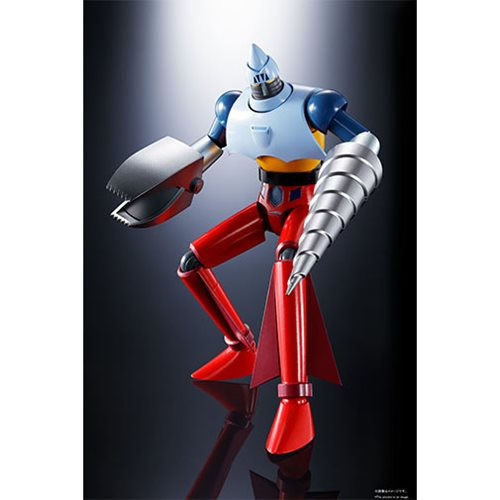 Getter Robo GX-91 Getter Two and Three D.C. Soul of Chogokin Action Figure