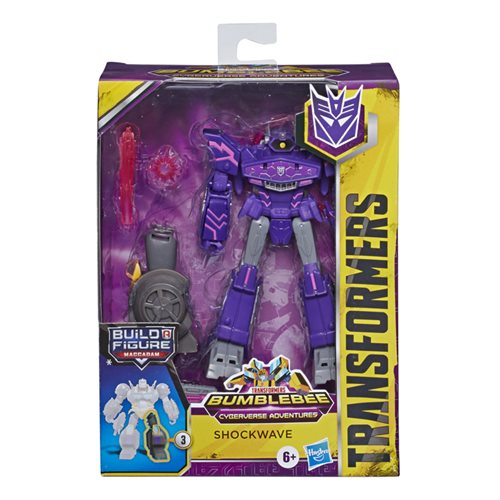 Transformers Cyberverse Deluxe Shockwave