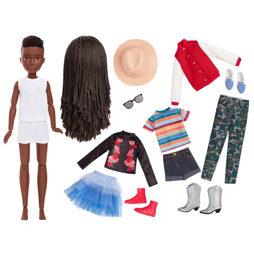 Creatable World Deluxe Character Kit DC-725 Doll