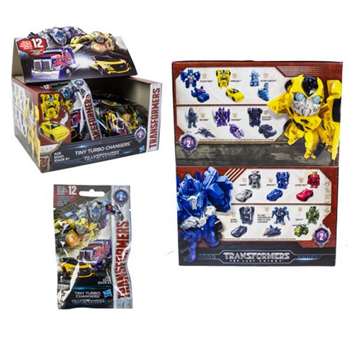 Transformers Tiny Turbo Changers Series 2 6-Pack