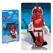 Playmobil 5076 NHL Detroit Red Wings Goalie Action Figure