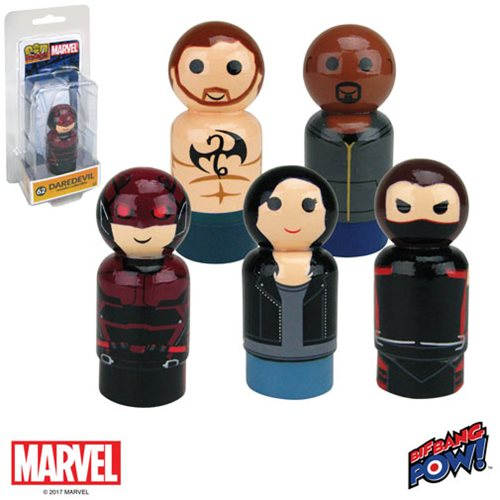 The Defenders Pin Mates Wooden Collectibles Set of 5