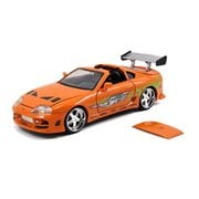 Fast and the Furious 1995 Toyota Supra 1:24 Scale Die-Cast Metal Vehicle