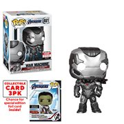Avengers: Endgame War Machine Pop! Vinyl Figure with Collector Cards - Entertainment Earth Exclusive