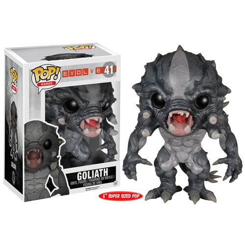 Evolve Goliath Monster 6-Inch Pop! Vinyl Figure