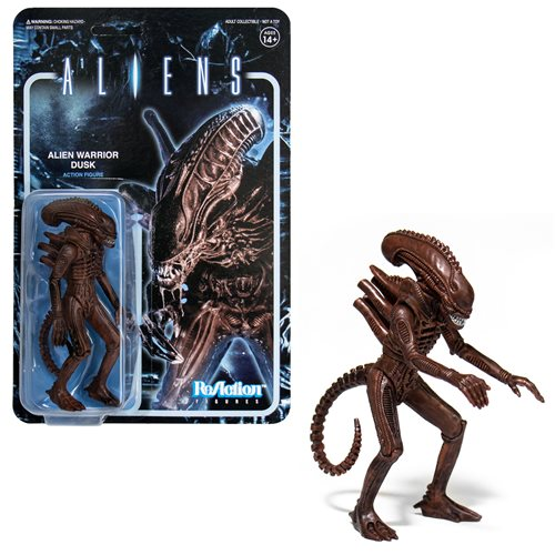Aliens Alien Warrior Dusk 3 3/4-Inch ReAction Figure