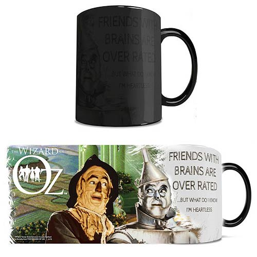 Wizard of Oz Brainless Morphing Mug