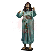 The Exorcist Regan Life-Size Talking and Rotating Statue