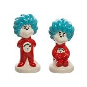 Dr. Seuss Thing 1 and 2 Sculpted Ceramic Salt and Pepper Set
