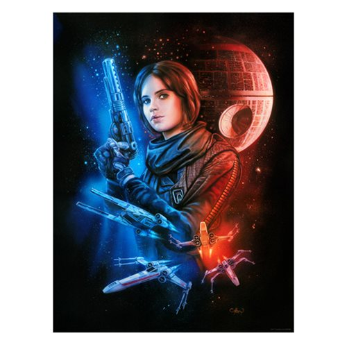 Star Wars Mission for Hope by Claudio Aboy Lithograph Art Print
