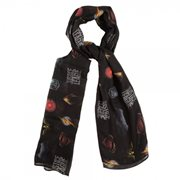 Justice League All-Over-Print Poly Scarf