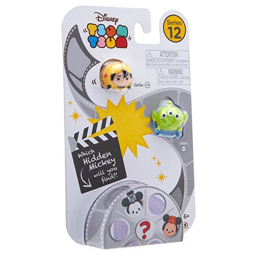 Disney Tsum Tsum 3-Pack Mini-Figures Wave 12 Random 4 Pack