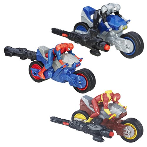 Spider-Man Blast N Go Racer Vehicles Wave 2